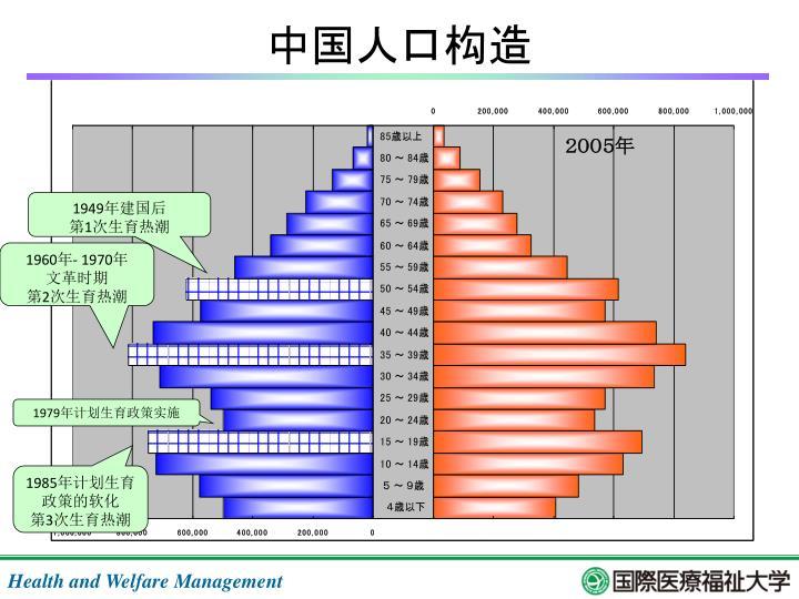 中国人口构造