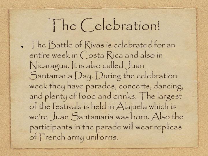 The Celebration!