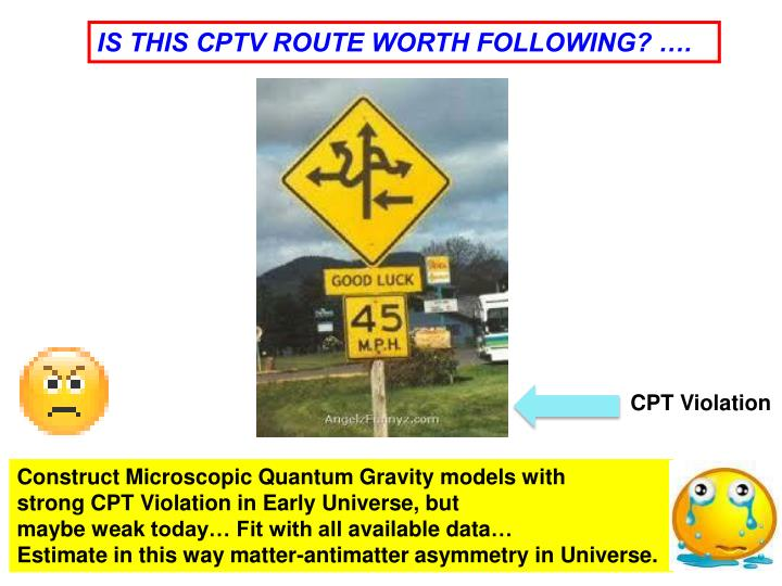 IS THIS CPTV ROUTE WORTH FOLLOWING? ….