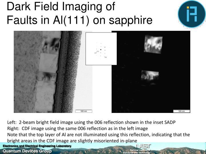 Dark Field Imaging of