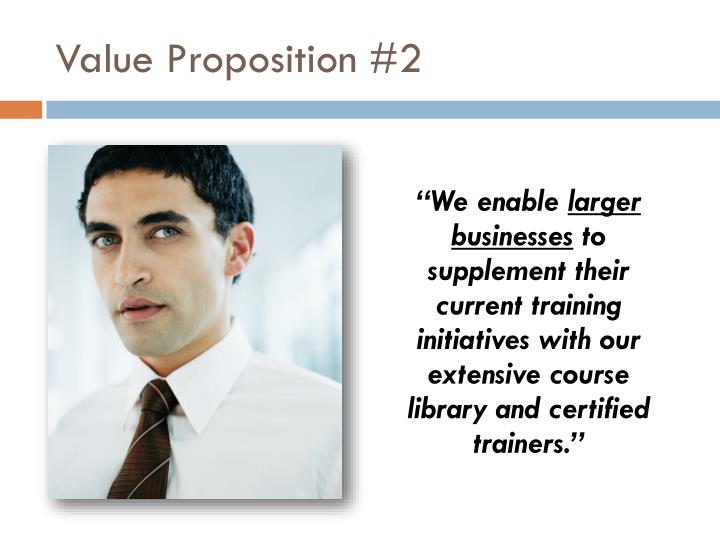 Value Proposition #2