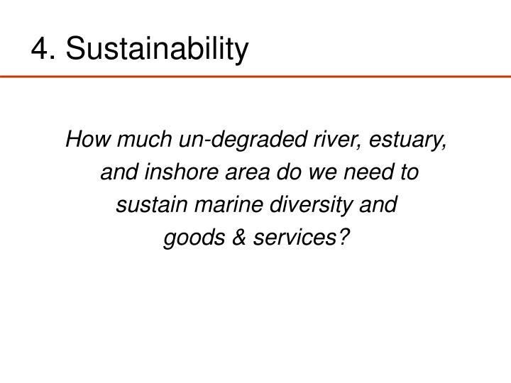 4. Sustainability