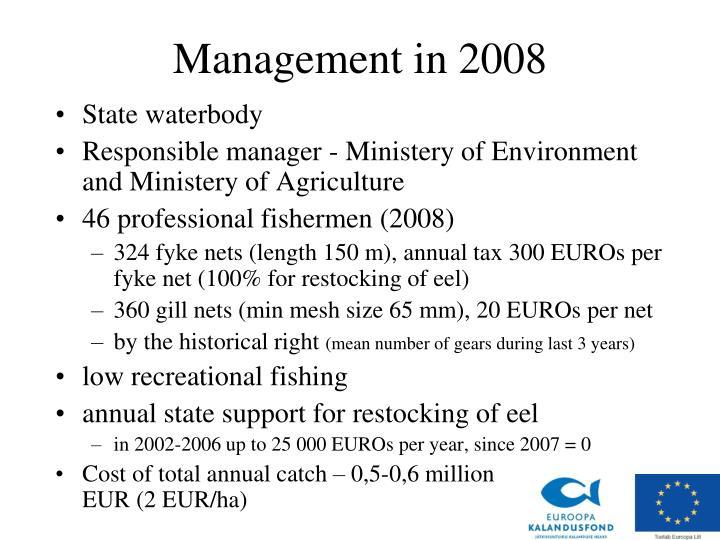 Management in 200