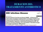 duracion del tratamiento antibiotico5
