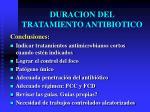 duracion del tratamiento antibiotico6