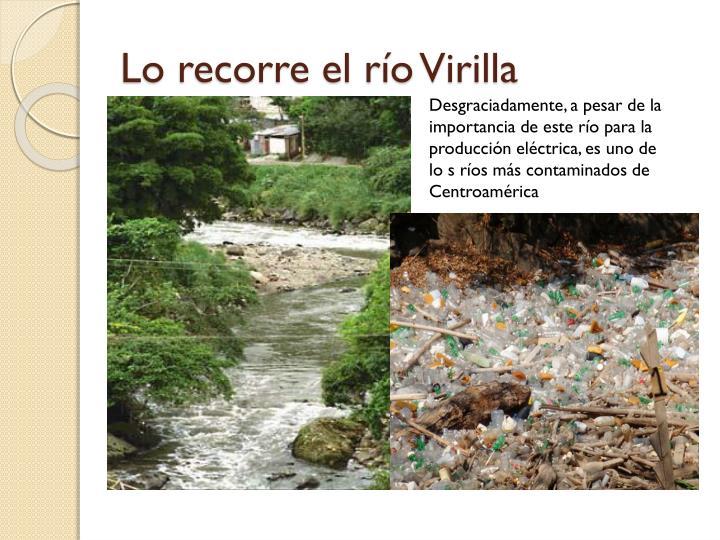Lo recorre el río Virilla