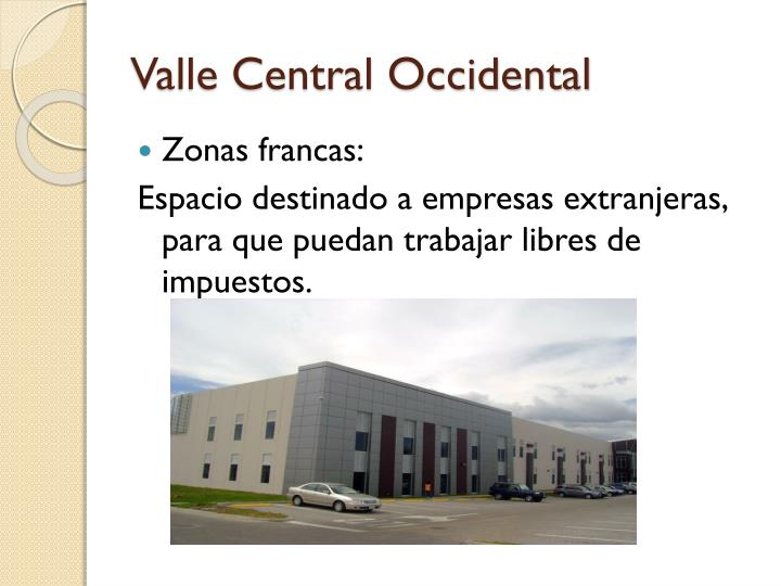 Valle Central Occidental