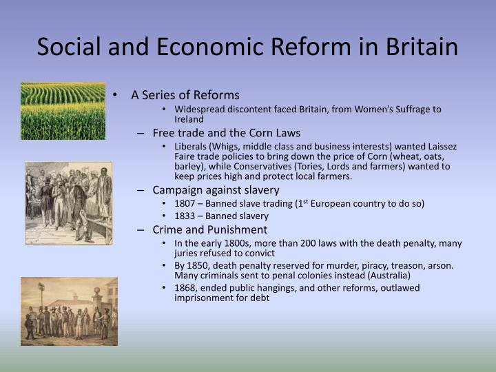 Social and Economic Reform in Britain