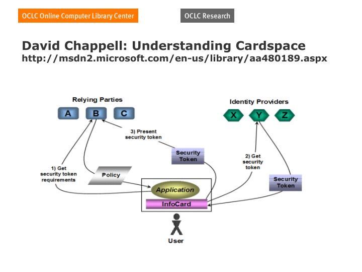 David Chappell: Understanding Cardspace