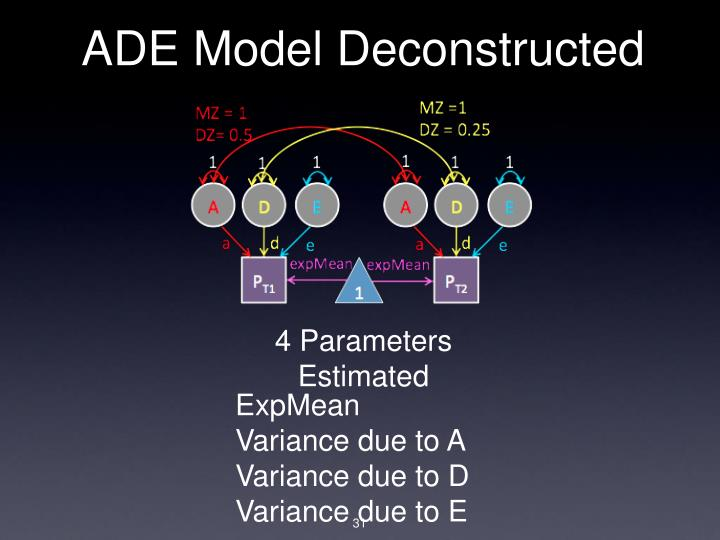 ADE Model Deconstructed