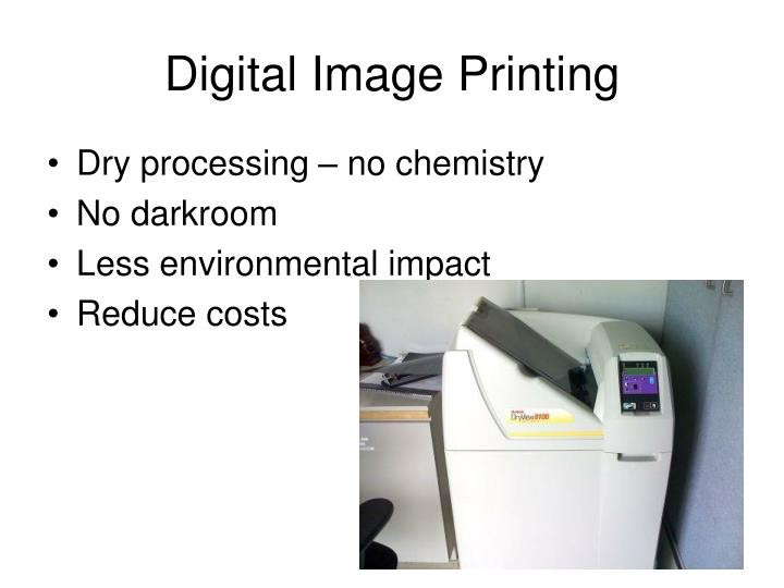 Digital Image Printing
