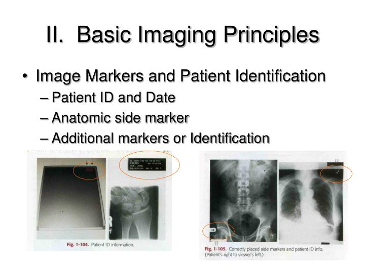 Image Markers and Patient Identification