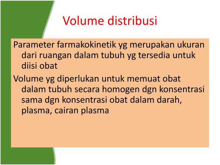 Volume distribusi