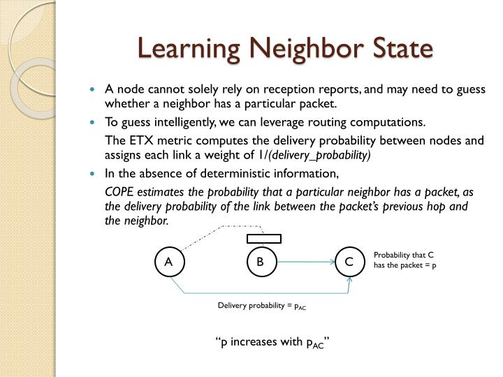 Learning Neighbor State