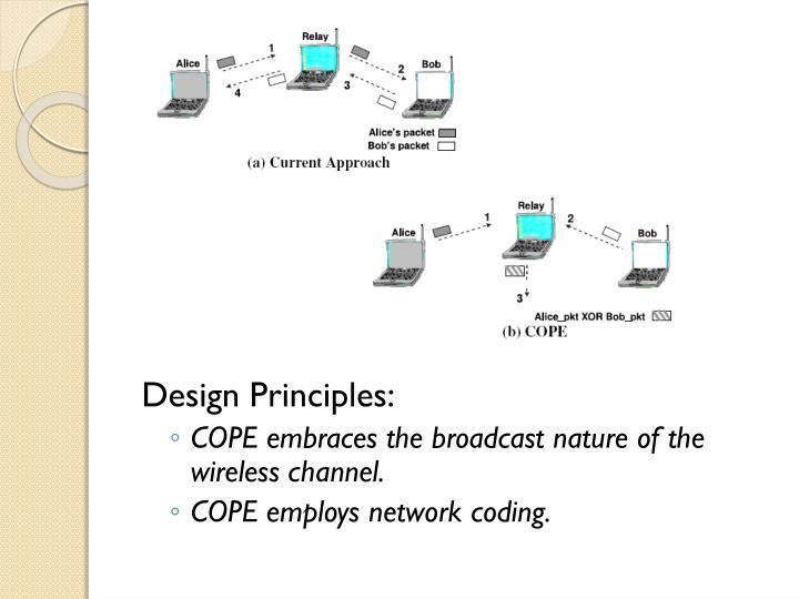 Design Principles: