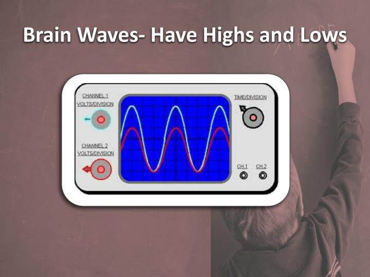 Brain Waves- Have Highs and Lows