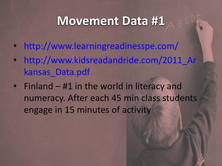 Movement Data #1