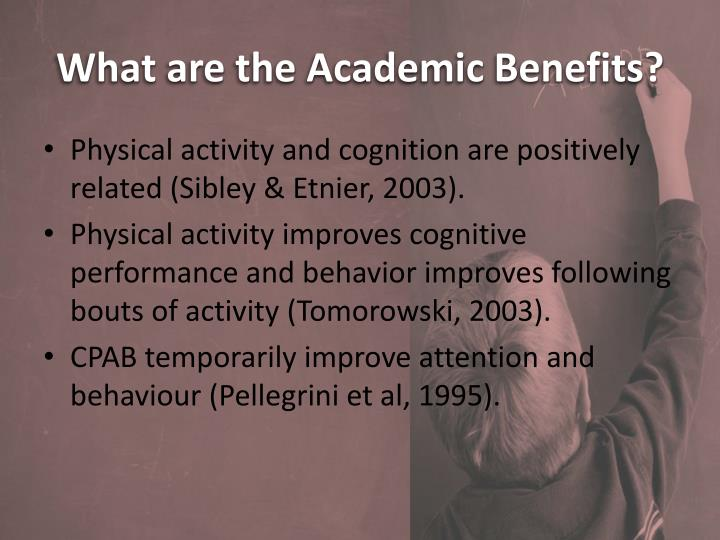 What are the Academic Benefits?
