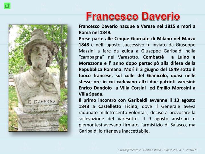 Francesco Daverio