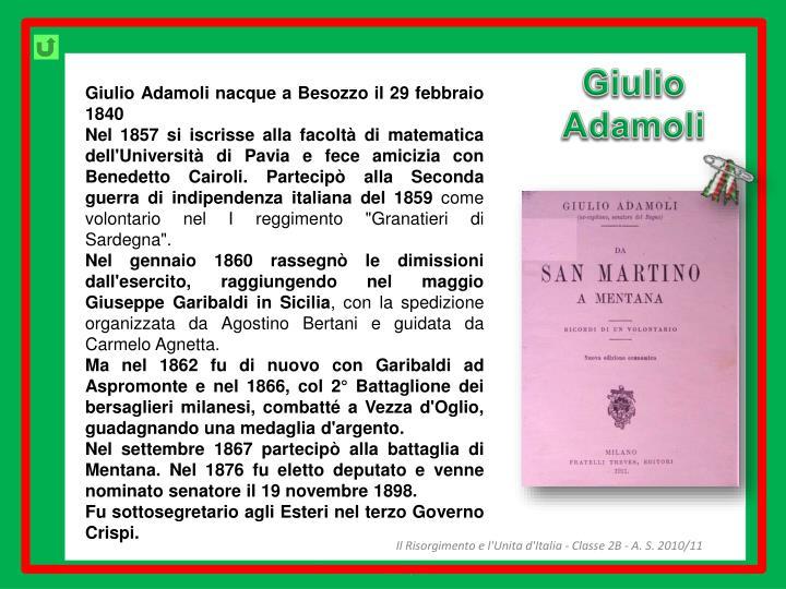 Giulio Adamoli