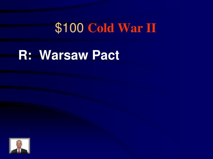 R:  Warsaw Pact