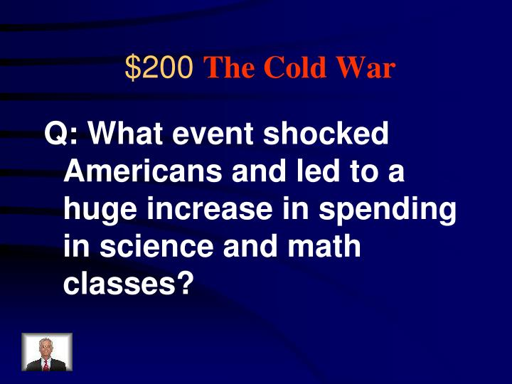 Q: What event shocked Americans and led to a huge increase in spending in science and math classes?