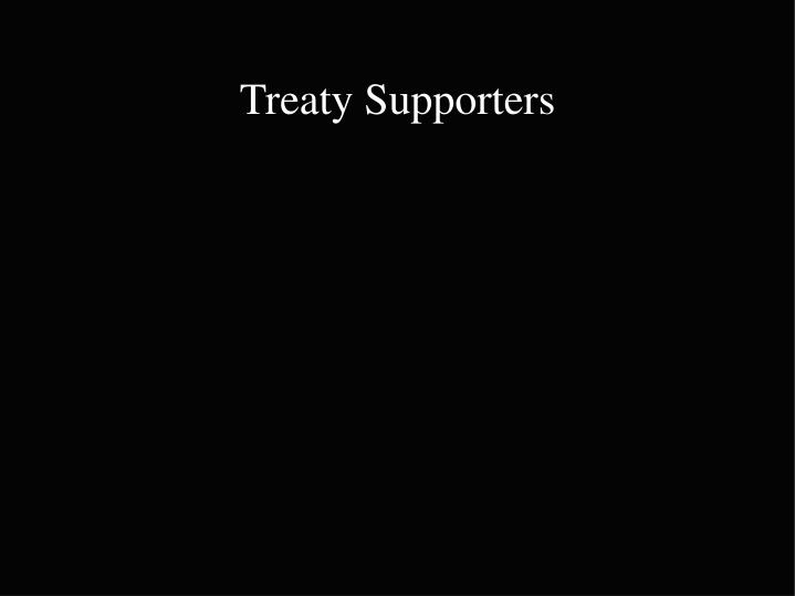 Treaty Supporters
