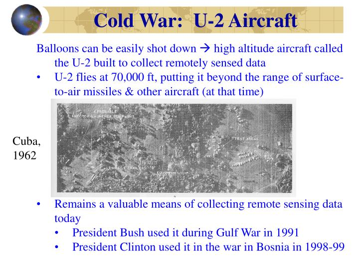 Cold War:  U-2 Aircraft