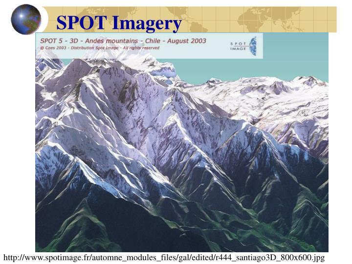 SPOT Imagery