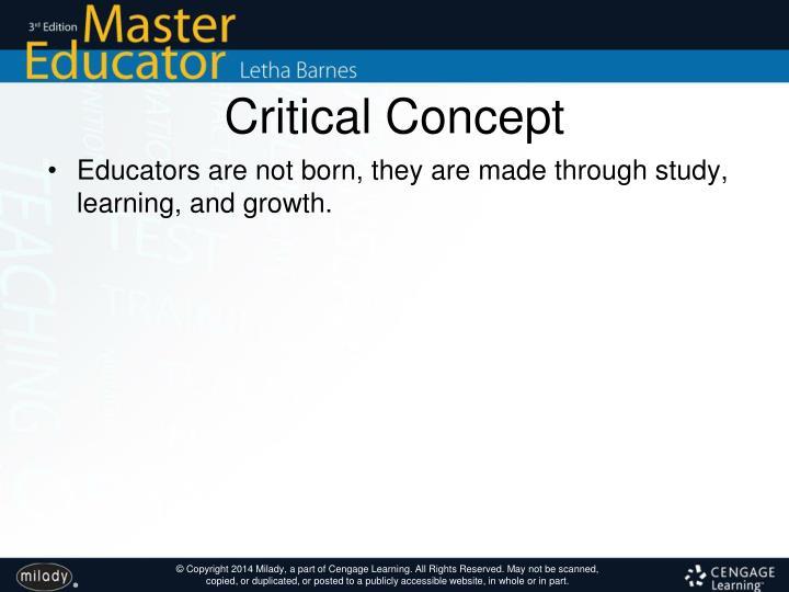 Critical Concept