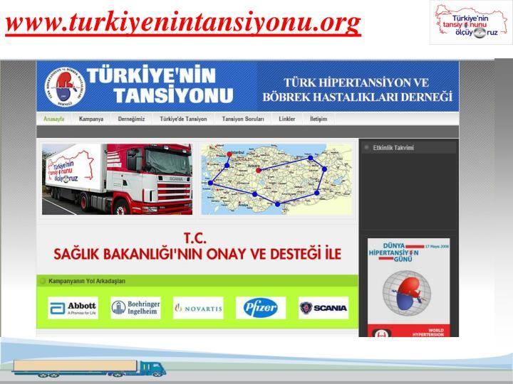www.turkiyenintansiyonu.org