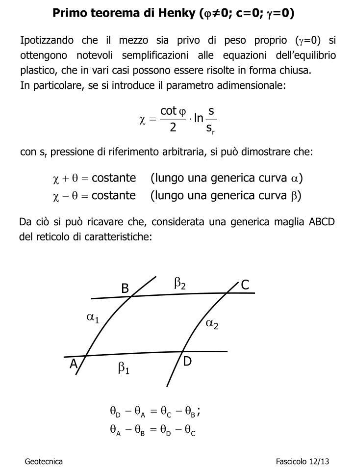 Primo teorema di Henky (