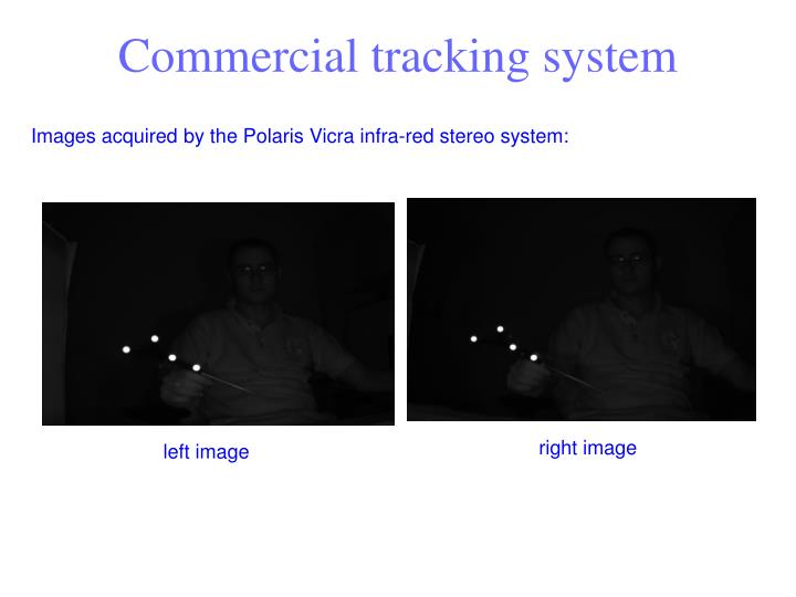 Commercial tracking system
