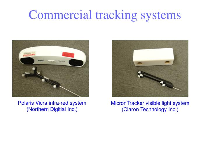 Commercial tracking systems