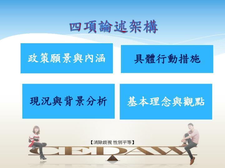 四項論述架構