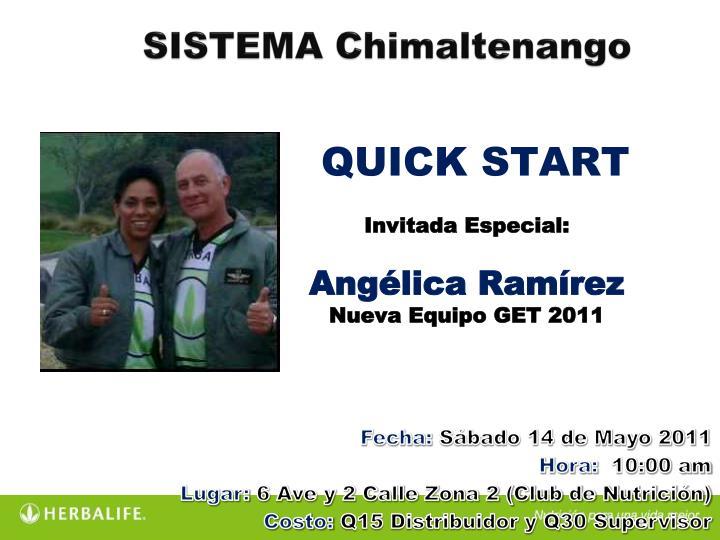 SISTEMA Chimaltenango