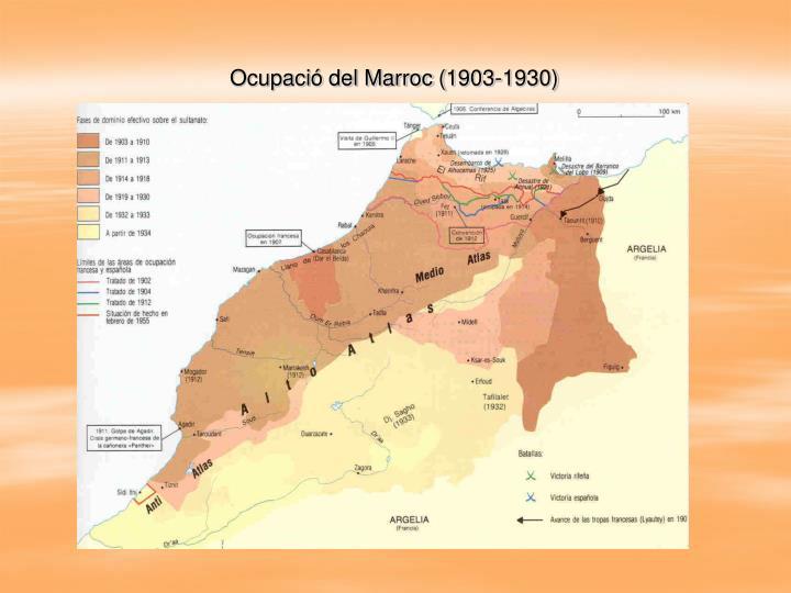 Ocupació del Marroc (1903-1930)