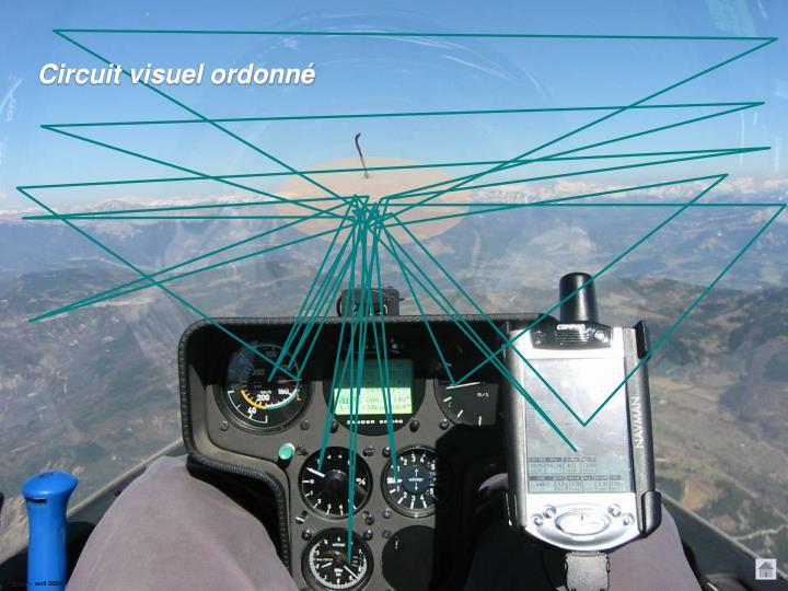 Circuit visuel ordonné