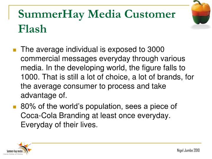 SummerHay Media Customer Flash
