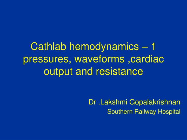business report cardiac cath lab powerpoint