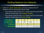 dividing networks from networks3
