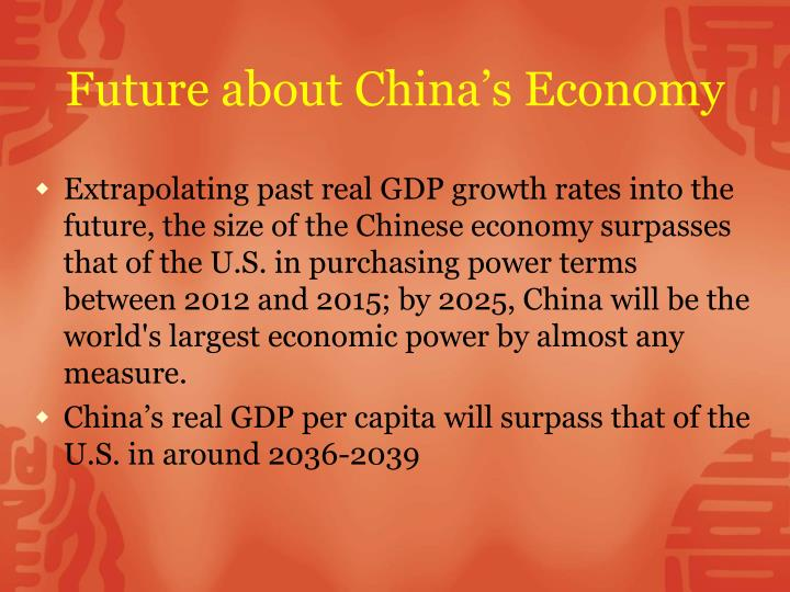 Future about China's Economy