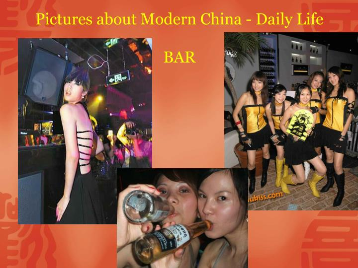 Pictures about Modern China - Daily Life