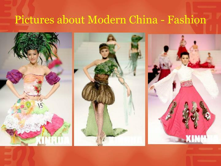 Pictures about Modern China - Fashion