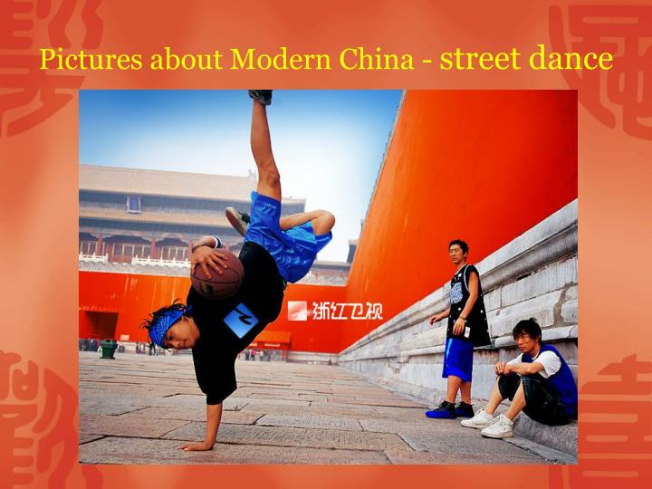 Pictures about Modern China -