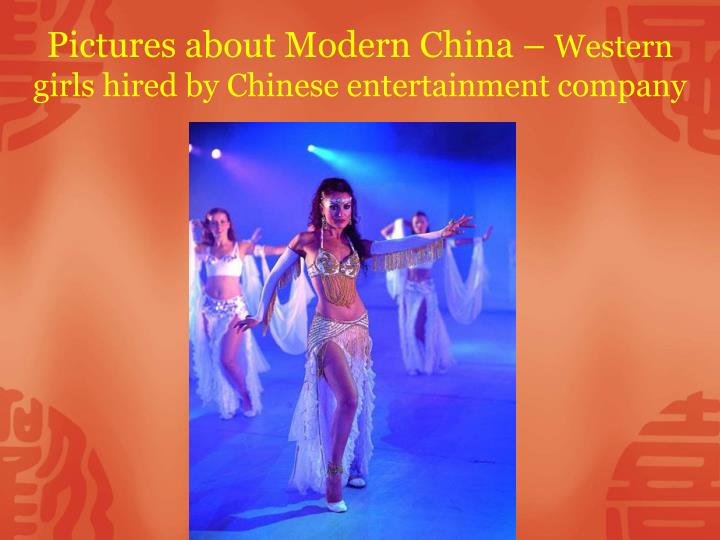 Pictures about Modern China –