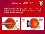 what is laser1