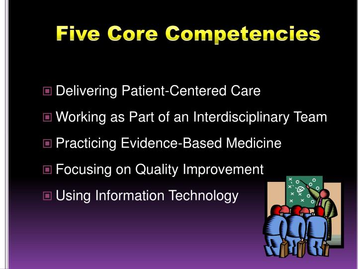 Five Core Competencies