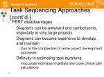 task sequencing approaches cont d6