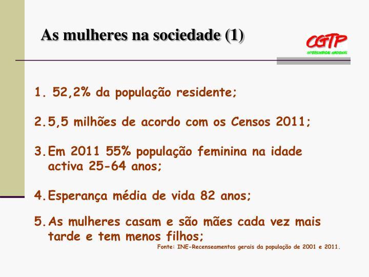 As mulheres na sociedade (1)